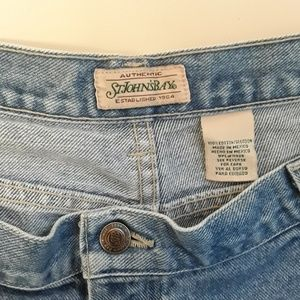 St. John's Bay Shorts - SJB Plus Size 5 Pocket Mom Jean Shorts